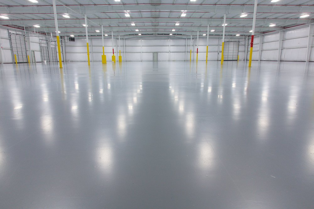 Finished Epoxy Floor Project Liquid Floors