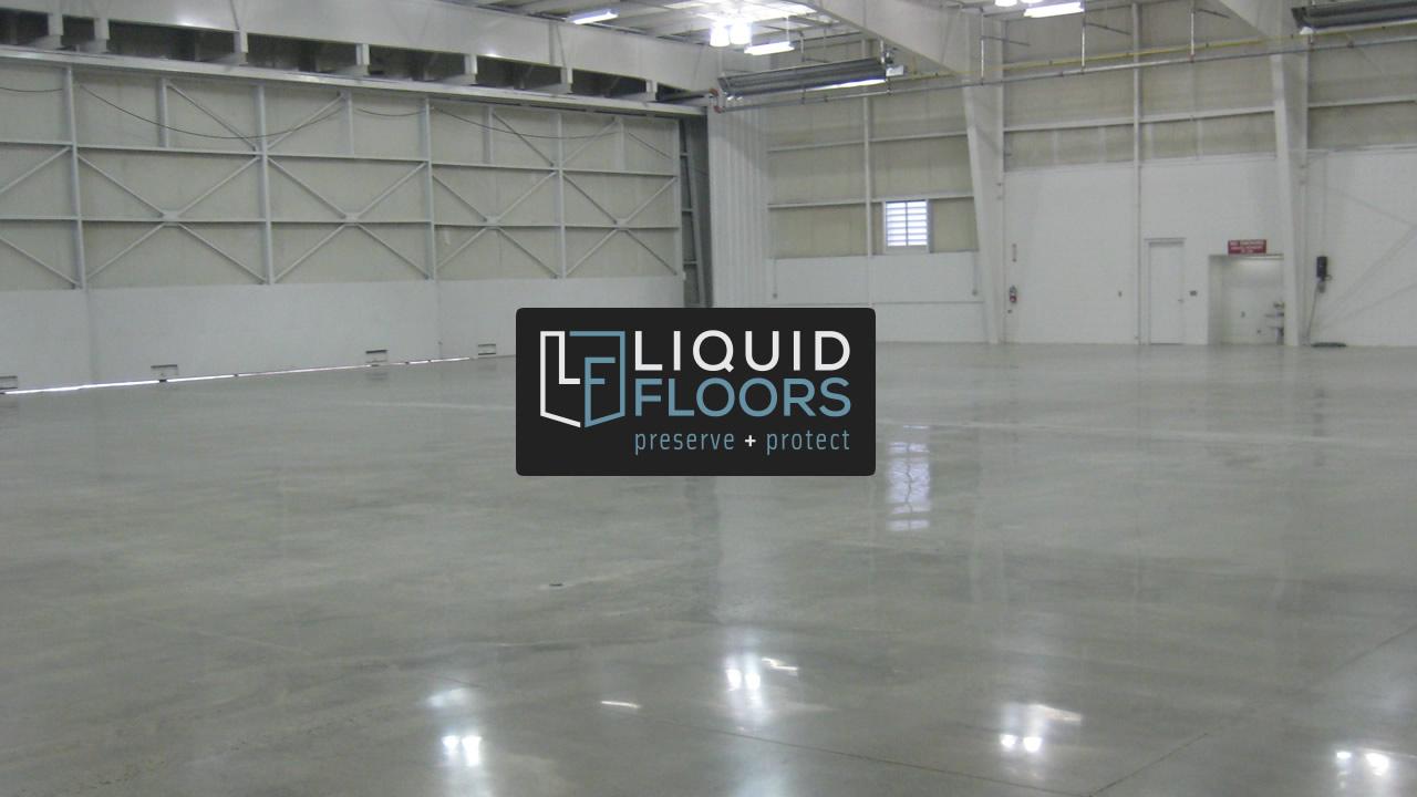 Aviation Hangar Concrete Polishing Installation | Case Study | North Carolina