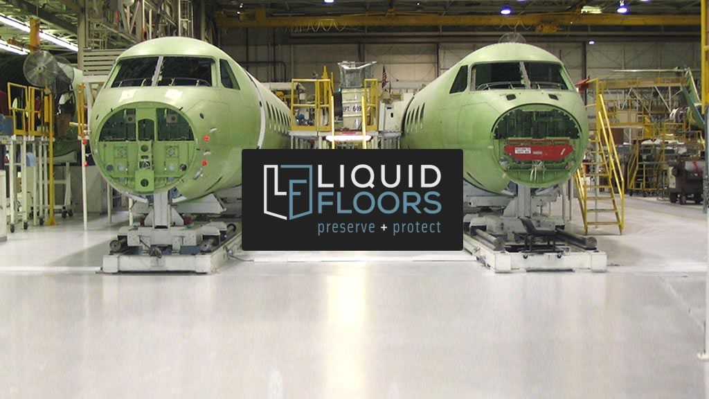 Aviation Manufacturing Epoxy Floor Coating Installation Case Study Savannah Georgia
