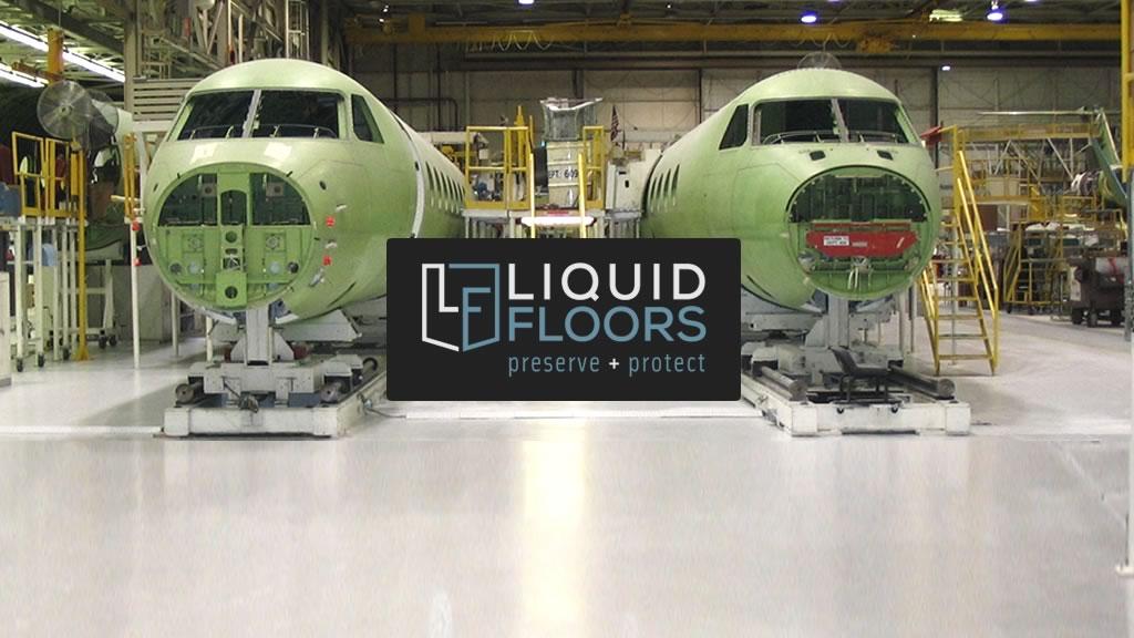 Aviation Manufacturing Epoxy Floor Coating Installation Case Study Savannah Georgia