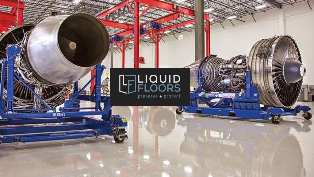 Liquid Floors Aeroturbine Industrial Epoxy Floor Coatings