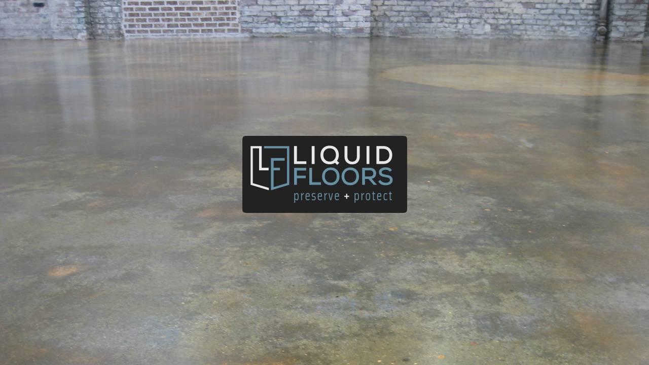 Art Store Industrial Stained Concrete Floor Savannah Georgia Liquid Floors After