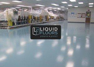 Clean Room Industrial Flooring Installation by Liquid FLoors