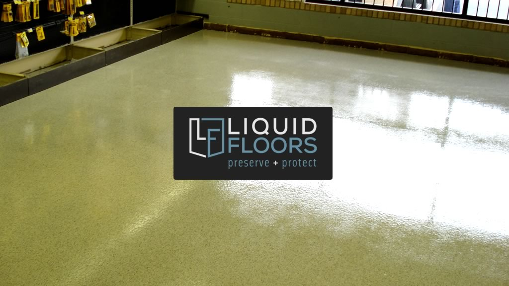 Liquid Floors Industrial Flooring Installation DeWalt