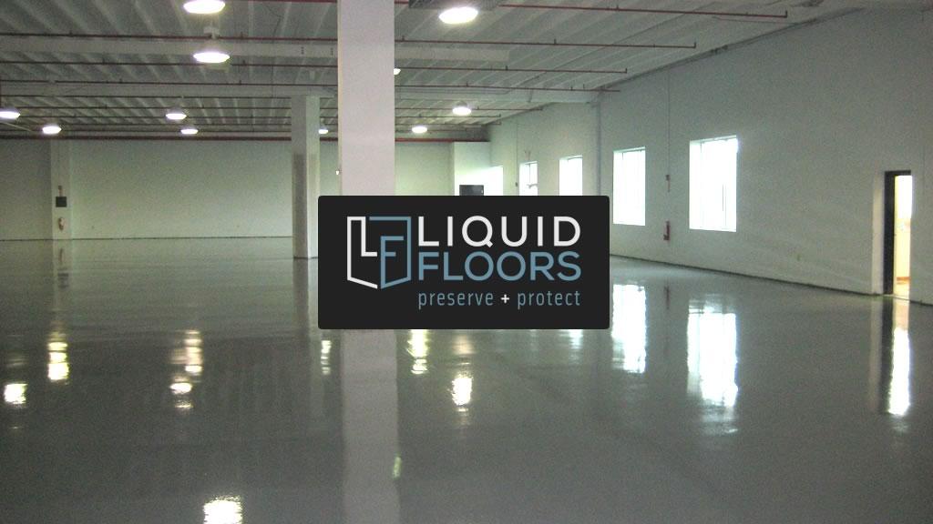 Liquid Floors Industrial Flooring Installation for Genpak