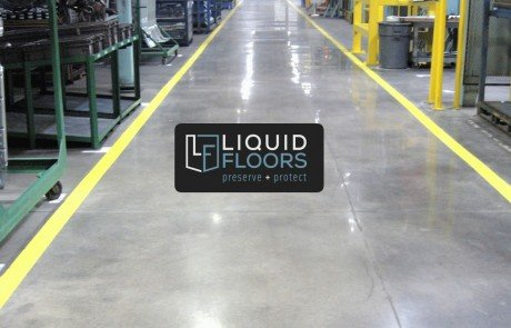 Mayflower Kings Mountain North Carolina Concrete Polish Industrial Flooring By Liquid Floors