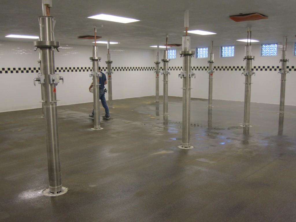 Industrial Concrete Polishing Charleston, SC - Before