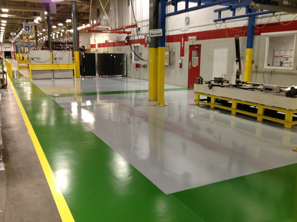 Concrete Polishing Installation