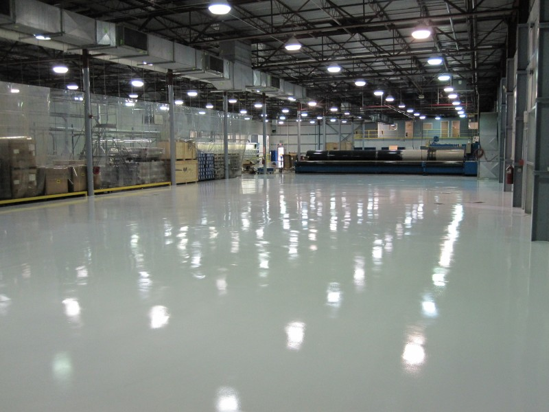 Case Study – Industrial Epoxy Flooring in South Carolina