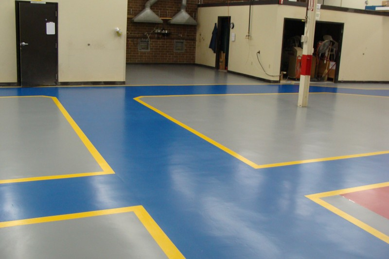 Industrial Flooring Urethane Top Coat Case Study