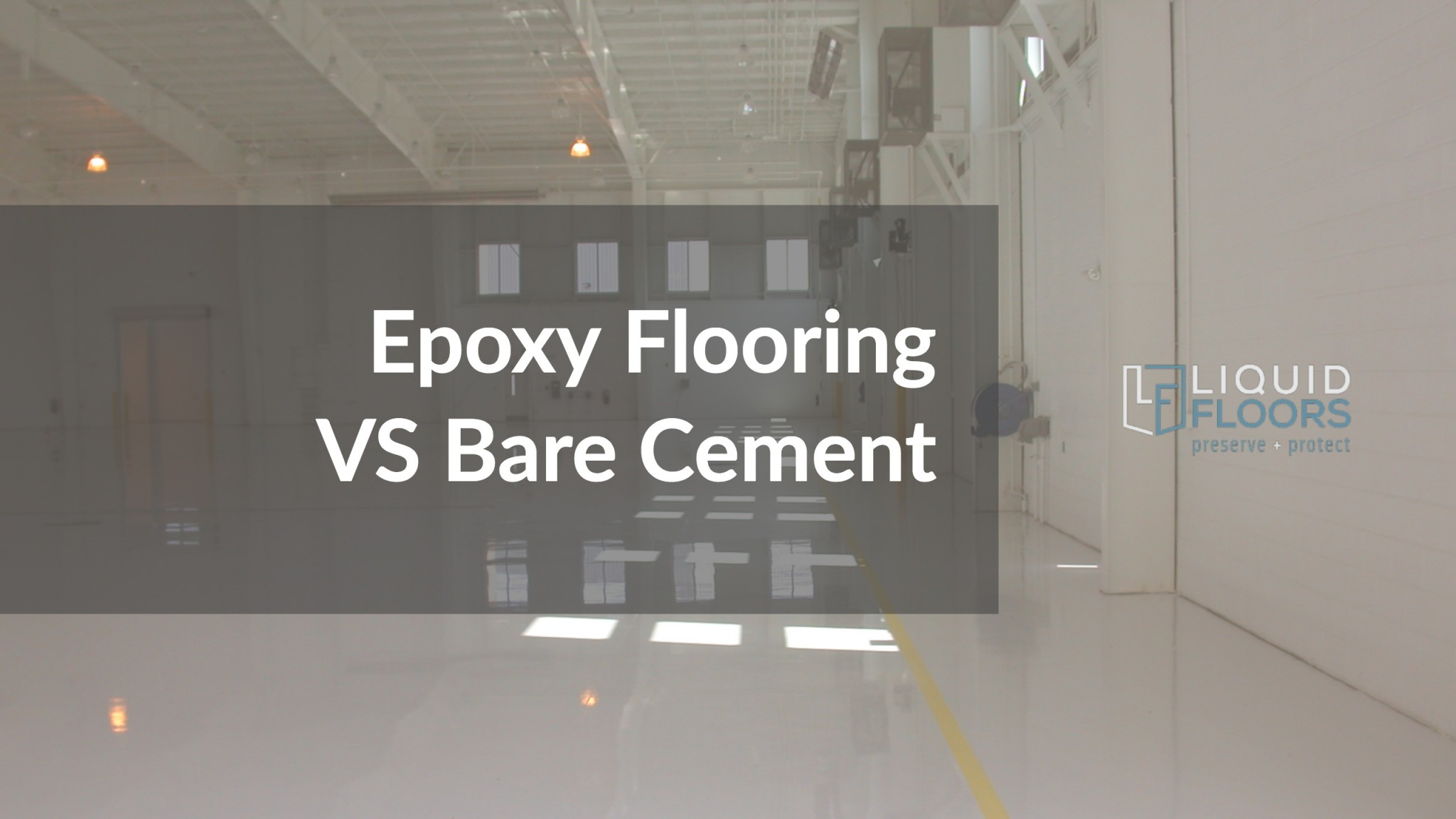 Bare Concrete Flooring : How industrial facilities benefit from chemical resistant